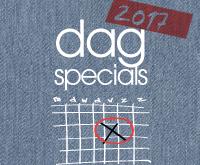 Jaarkalender – dagspecials 2017